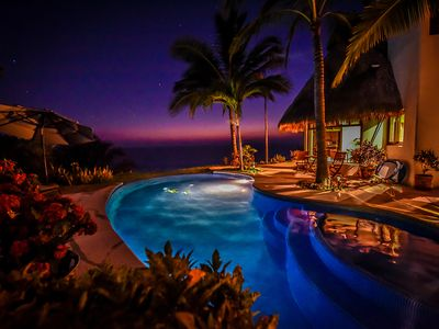 Photo for Stunning Secluded Oceanfront San Francisco (San Pancho) Villa