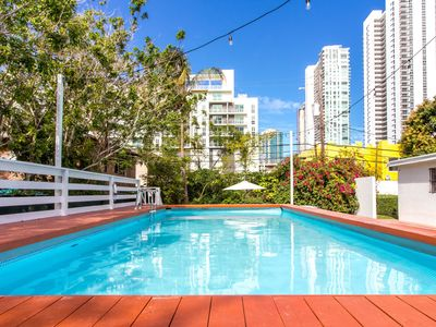Photo for Sextant's Edgewater Place—Large Pool, Hot Tub 10 minutes to South Beach