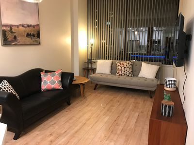 Photo for Newly renovated condo with a parking at centre of Downtown