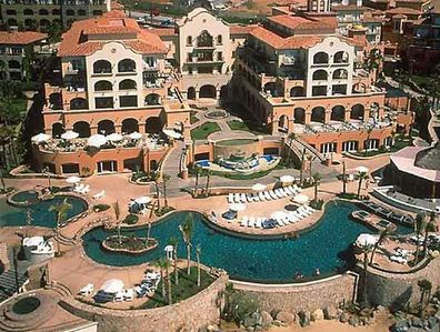 Many pools overlooking the Pacific are yours at Hacienda Del Mar, Cabo.