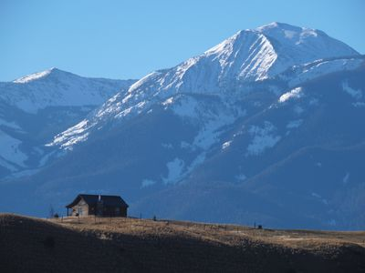 Photo for Elk Ridge Cabin, Quiet respite very near Yellowstone Park/River