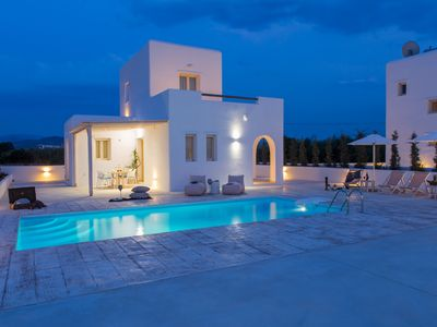 Photo for Naxian Lounge Villas | Villa II with private pool