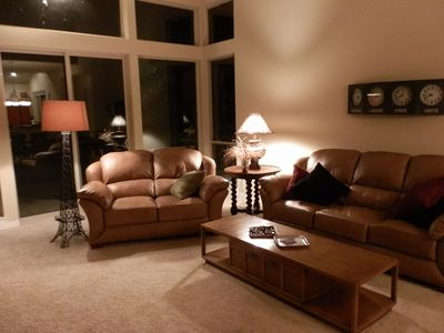 Photo for Private, serene, & supremely comfortable.  And dog friendly too!