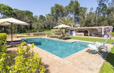 Photo for 7 bedroom Villa, sleeps 13 with Pool, Air Con and FREE WiFi