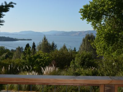 Photo for Quiet Lake View Home with Large Deck