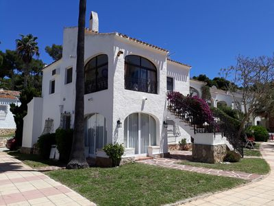 Photo for Love 2 bed apartment.  Sleeps 4 with wifi, satellite TV and pool.