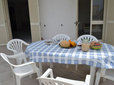 Photo for Charming Holiday Home near the Beach with a Terrace; Parking Available, Pets Allowed