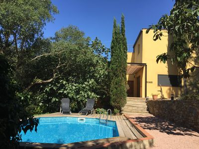 Photo for Villa with private pool and garden 8 minutes from the beach Sa Riera in Begur
