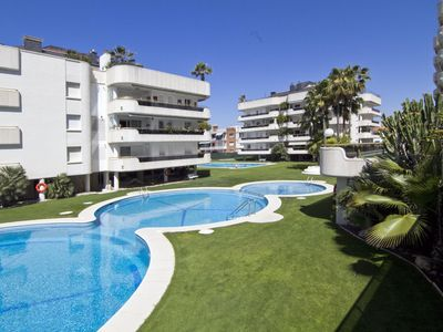 Photo for Fantastic apartment next to the beach, a privileged place in Sitges.