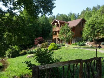 Photo for Come and visit Murphy, NC and stay in my beautiful cabin