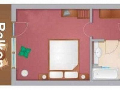 Photo for Double room with balcony for 2 persons - Landhaus Gitti