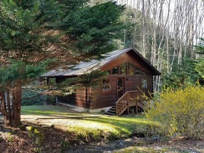 Photo for New! Creeksong Cabin - Private Getaway in the Nantahala Gorge