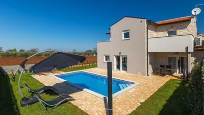 Photo for Beautiful family villa 4 km from the beach