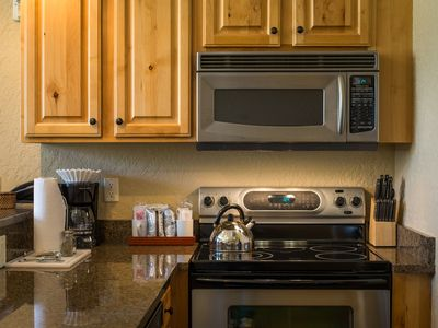 Photo for Walk to Canyons Village from this cozy condo