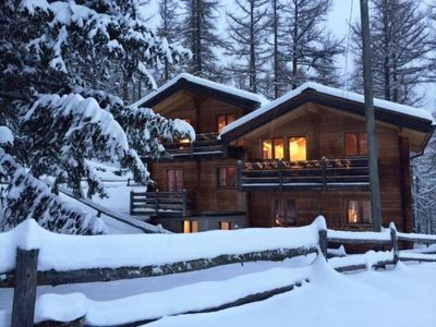 Photo for Apartment Chalet Fasan in Saas-Fee - 5 persons, 2 bedrooms