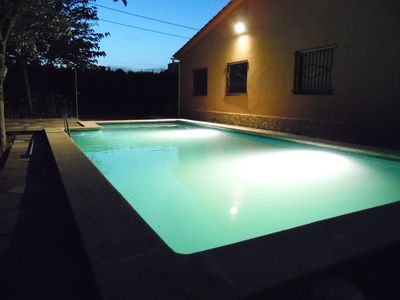 Photo for Very cozy typical Catalan house with private pool near Lloret de Mar