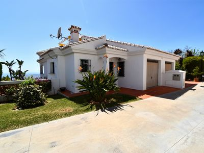 Photo for Beautiful 4 bedroom house close to Mijas Pueblo with stunning sea views!