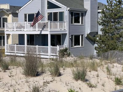 Photo for Oceanfront LBI Beach House, Sleeps 12+, Private Access to Beach