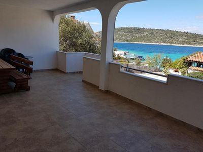 Photo for Two bedroom apartment near beach Kanica (Rogoznica) (A-12895-a)