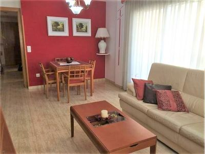 Photo for Apartment village just a few meters from the beach and close to all shops.