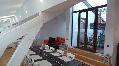 Photo for Panorama View, Luxurious penthouse 12 minutes from center, with huge terrace
