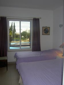 Bedroom with Double & Single Bed
