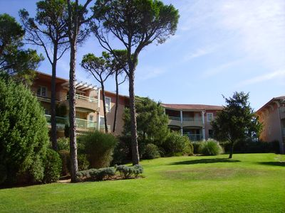 Photo for Studio in small residence, near golf courses, swimming pool, park