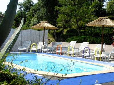 Photo for House 2-4 pers swimming pool, 15 minutes from Cannes, Frèjus, Lake St Cassien, wifi free