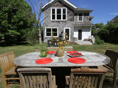 Photo for Walk Everywhere In Sag Harbor Village And Watch Beautiful Sunsets Over The Pond.