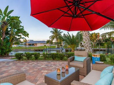 Photo for Direct Gulf Access Home Near to Beaches, Heated Salt Water Private Pool