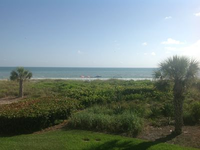 Photo for On the beach with unobstructed view of the gulf from the Living Room & Master BR