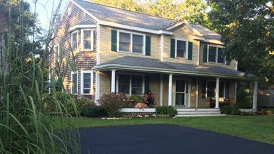 Photo for Walk to Mayflower Beach! Luxury Colonial-Style Cape Cod Home with A/C