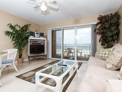 Photo for Gulf Dunes 306:Gorgeous gulf front unit-WiFi,pool,near boardwalk,FREE BCH SVC