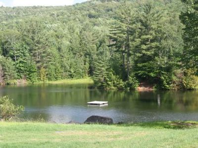 Photo for Cozy Condo in the White Mountain - SWIM AT OUR PRIVATE POND