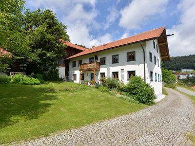 Photo for Very large, detached farmhouse in the Bavarian Forest with a fantastic view