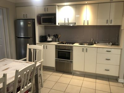 Photo for 2BR Brisbane Ground Level Unit with private courtyard. Long term welcome!