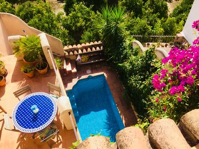 Photo for Moorish house, pool, wifi, views and terraces - Lecrin Valley, south of Granada