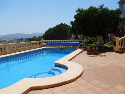 Photo for HolidayHome airco private pool  seaview