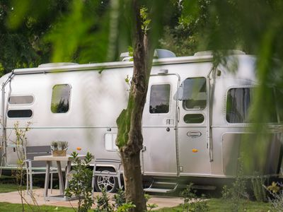 Photo for Airstream luxury caravan near the sea