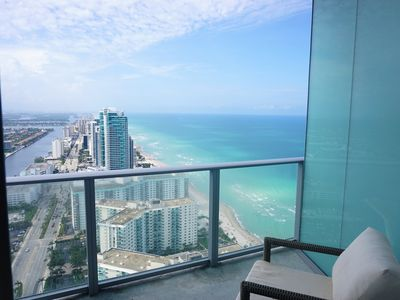 Photo for Luxurious 1 BR unit at HydeBeach with Breathtaking Ocean Views