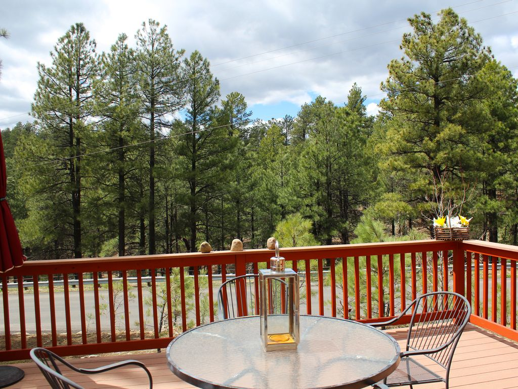 vacation cabins rentals foothills management sedona homes cabin flagstaff in property