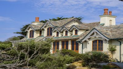 Ocean Front Beach House On 17 Mile Drive, Sunset View