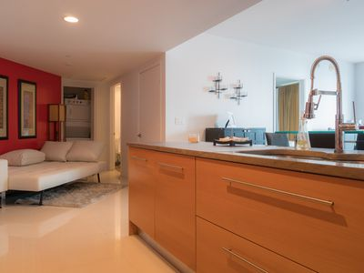Photo for Luxury Condo in the Heart of Brickell.   Minutes from the Beach and Airport