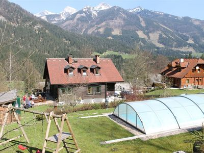 Photo for Holiday house with large garden with swimming pool at the forest edge