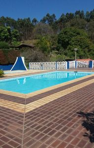Photo for We are located 4 km from the center of Mairiporã, in the middle of nature.