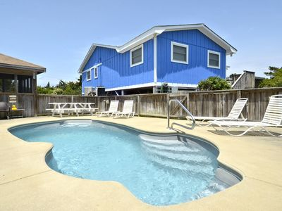 Photo for 5 Star Property Charming beachside home, pool & spa; located on quiet cul-de-sac