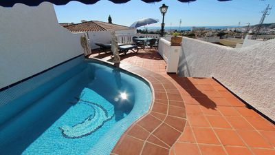 Photo for Beautiful house with private pool, beautiful views and many terraces