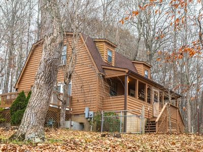 Photo for NEW LISTING! Dog-friendly home w/ a large deck, boat slip, & private parking