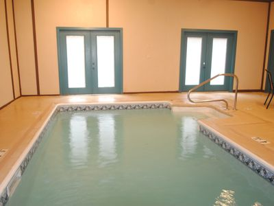 Private indoor pool. 6 BR (incl. bunkroom) 4 bath.3750 sq. ft.  Near Dollywood