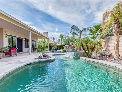 Photo for Luxury La Quinta Vacation Pool Home near Polo Grounds, Tennis Stadium and Golf